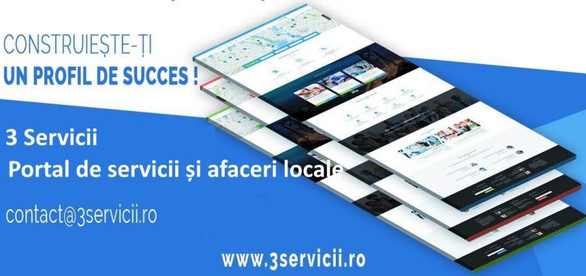 Conectează profilul tău 3Servicii cu pagina de Facebook